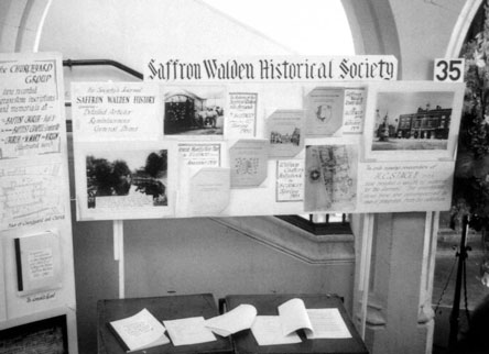 history day display by saffron walden historical society