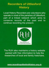 recorders of uttlesford history