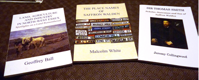 saffron walden historical society publications