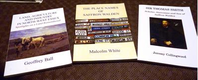 saffron walden historical society publications