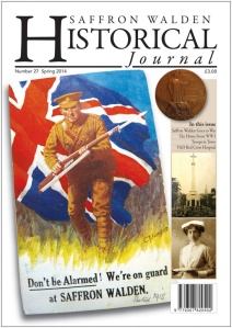 saffron walden historical journal cover april 2014